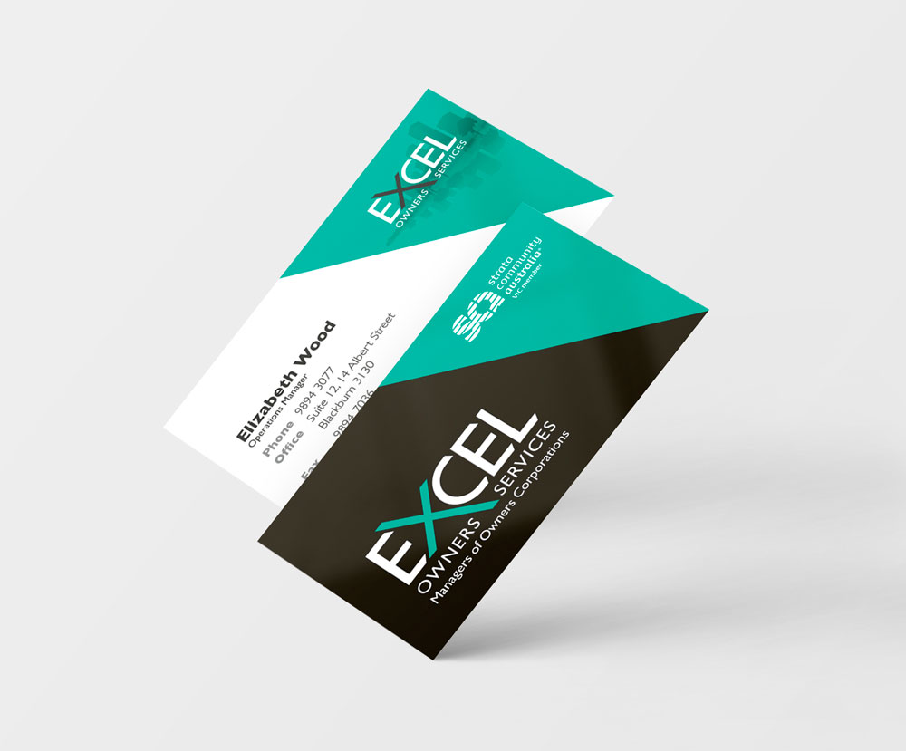 Excel Owners Services Business Card