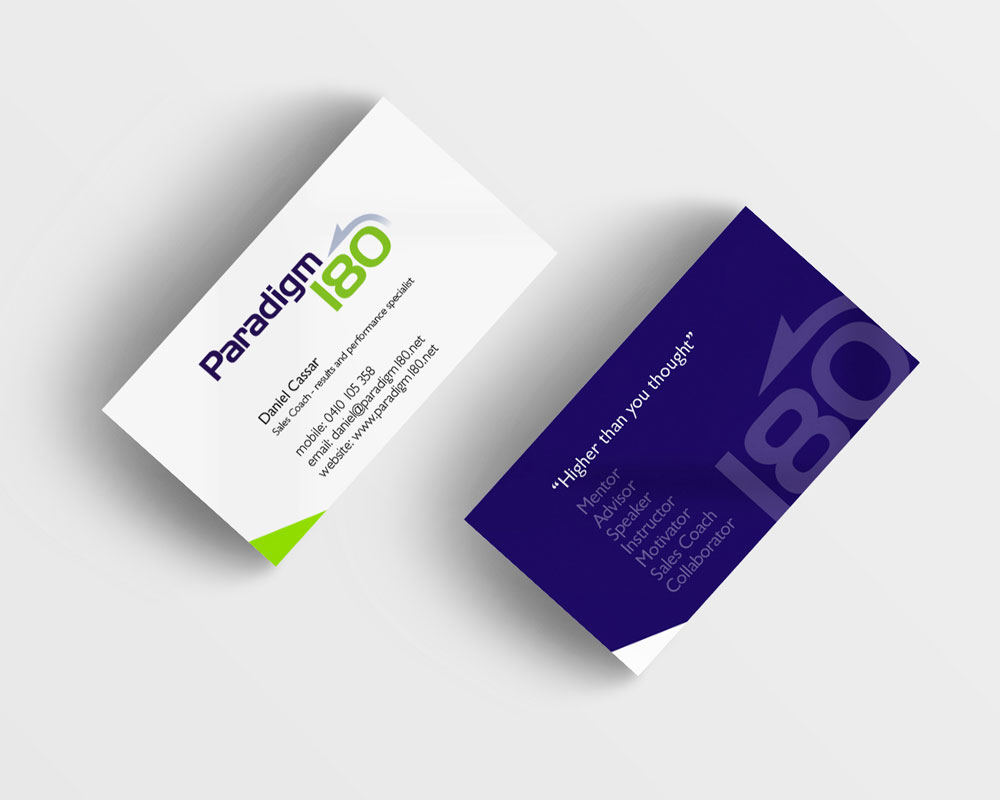 Paradigm 180 Business Cards