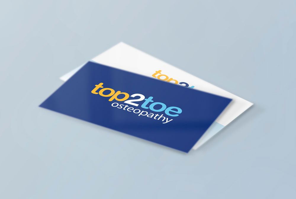 Top2Toe Ostepathy Business Card