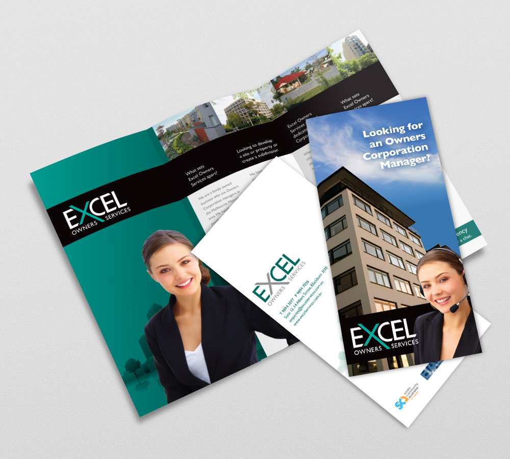 EXCEL Brochure DL Trifold
