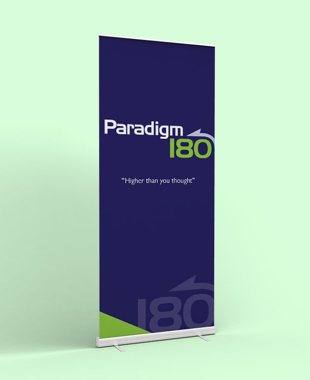 Paradigm 180 Pull Up Banner