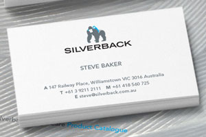 Silverback business card the wizarts reheart Image collections