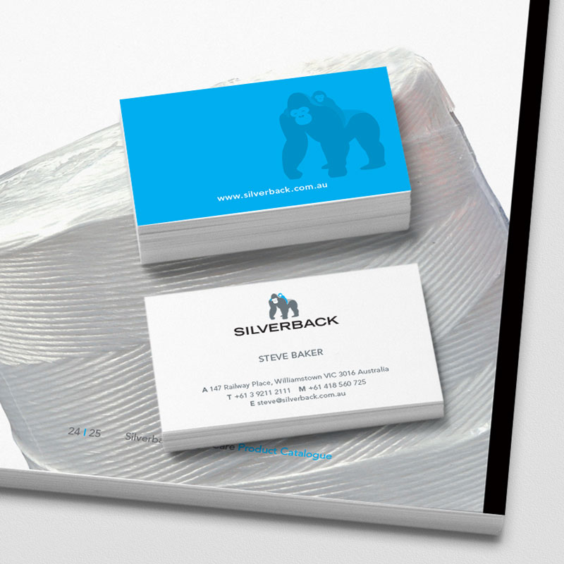 Silverback Business Card