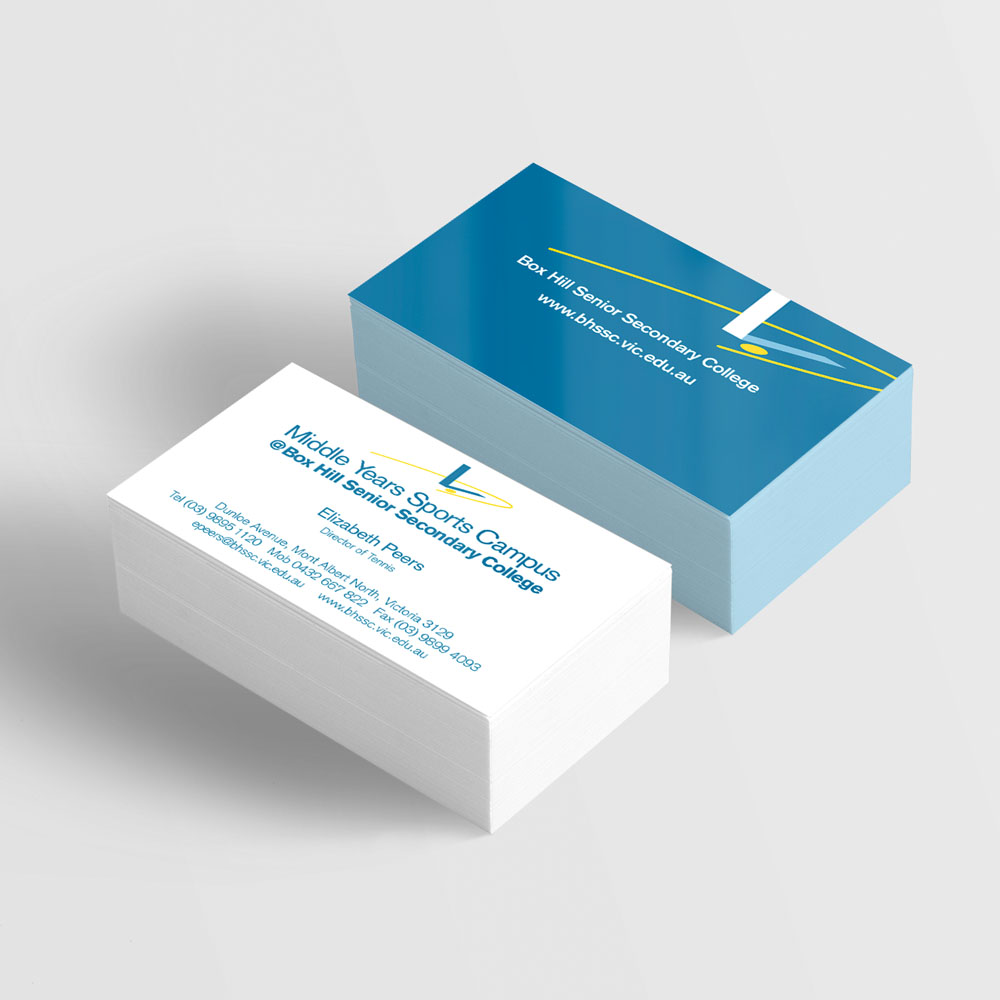 BHSSC Business Cards