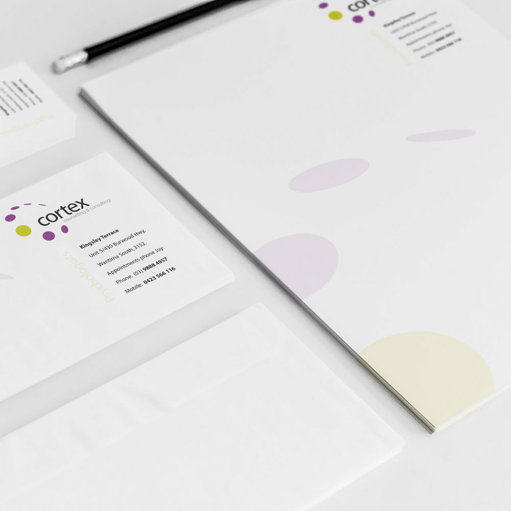 Cortex Counselling & Consulting Stationary