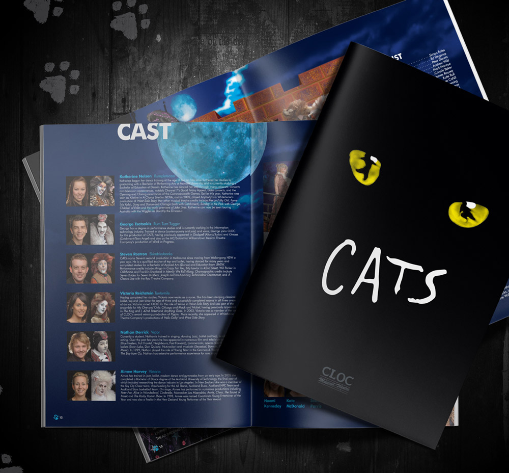 CLOC Cats Theatre Program