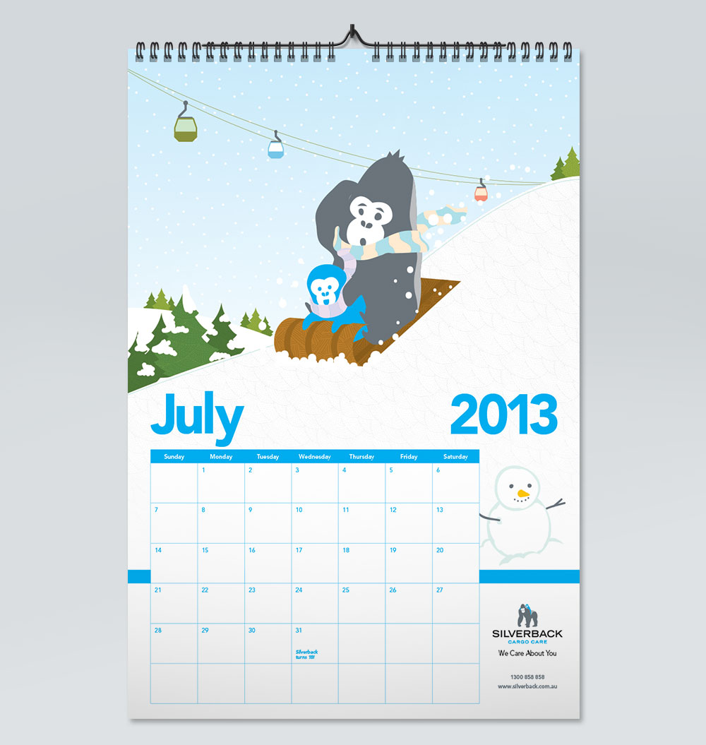 Calendar Photography Jobs : Silverback wall calendar the wizarts