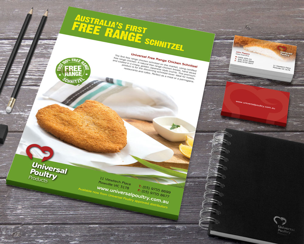 universal poultry products range schnitzel flyer the wizarts universal poultry products range schnitzel flyer