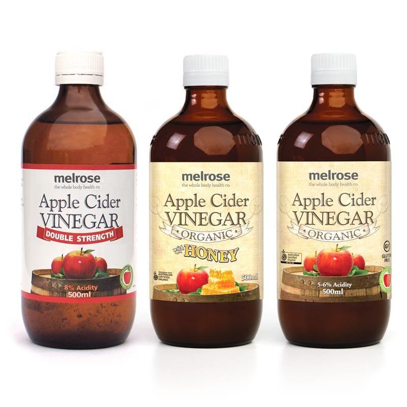 Melrose Apple Cider Vinegar Labels