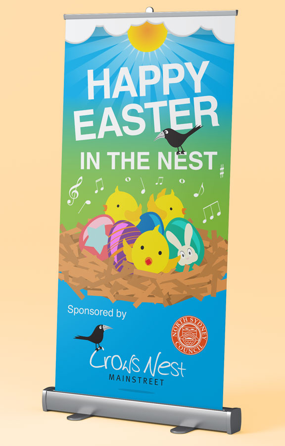 Crows Nest Easter Banner
