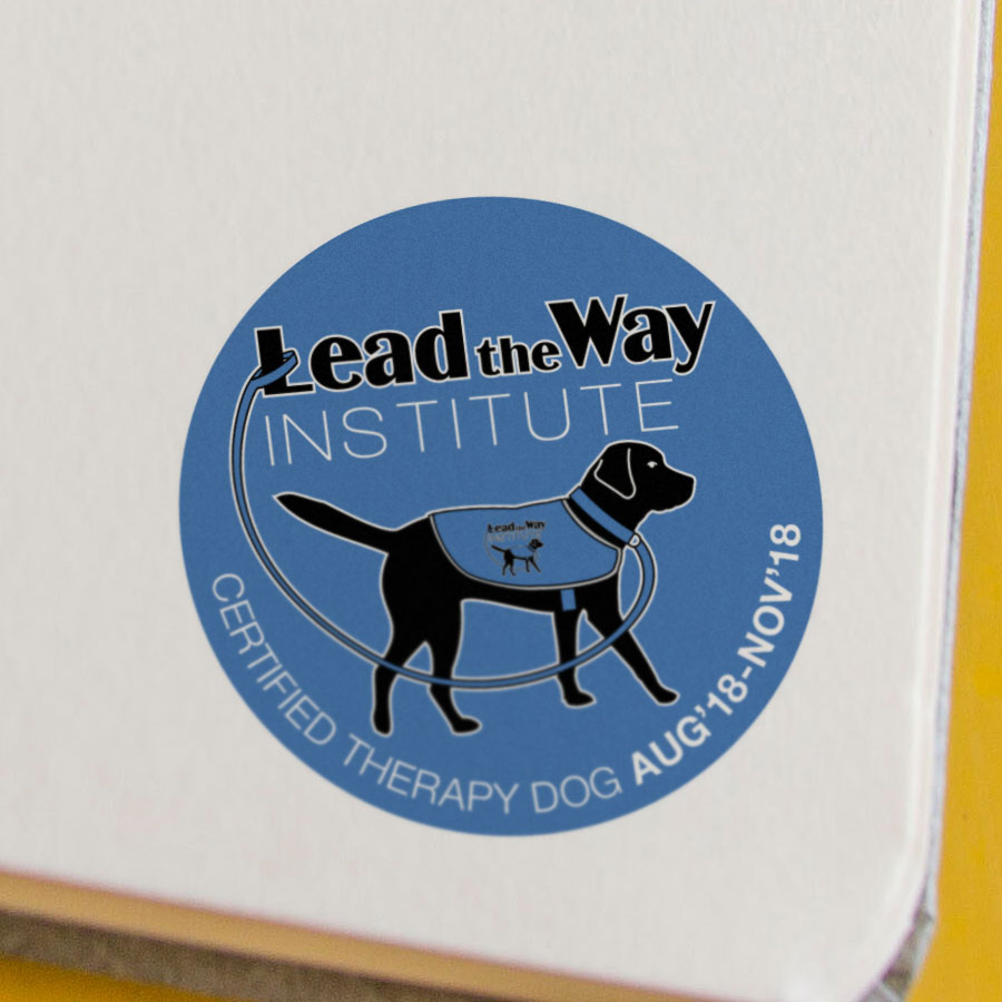 dog therapy badge certified institute lead wizarts
